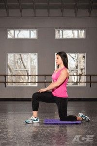 Let's see! Hip-flexor stretch Wow this interesting!
