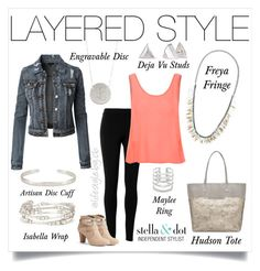 """Layer your clothes and layer your accessories during transition seasons!"" by cathy-bartlett on Polyvore featuring Max Studio, Stella & Dot, Glamorous and Jennifer Lopez"