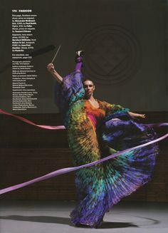 Wallpaper March 2008 : Belarusian Rhythmic Gymnastics Team by Jonathan de Villiers
