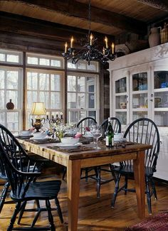 How to Create a Rustic Dining Space: The Key Ingredients | Love Chic Living