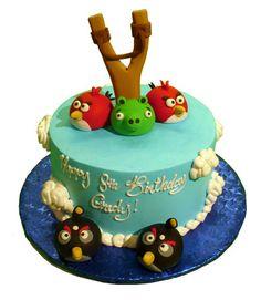 Angry Bird Cake - Rockwell's Bakery (Villa Park, CA)