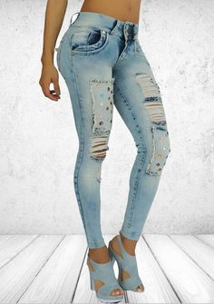 Colombian made jeans, very high quality jeans, jonale's exclusive sales. Is 100% Colombian fabric.