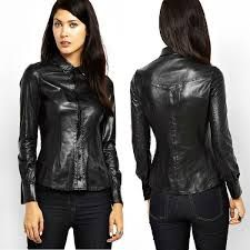Find #womens #leather #long #sleeve #shirt at #bespoketailoredleather Shop the latest #collection of womens leather long sleeve shirt from the most #popular #stores - all in one #place.