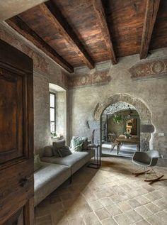 QUINshop - Quin Beautiful Interiors, Beautiful Homes, New Mexico Homes, Modern Rustic Decor, Garden Deco, Hacienda Style, Natural Building, Natural Home Decor, Interior Exterior