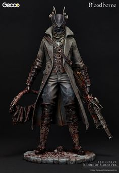 Pre-Order Gecco Bloodborne Hunter Puddle of Blood Sixth Scale