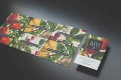 Whoa Nelly Catering Branding & Website by Cody Small, via Behance