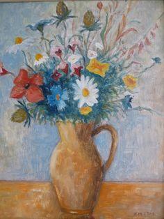 www.svetstarozitnosti.sk Flowers, Painting, Art, Art Background, Painting Art, Kunst, Paintings, Performing Arts, Royal Icing Flowers