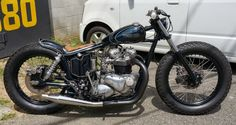 TR garage MOTOR CYCLE CUSTOM GARAGE: custom summary of our shop xs 650 Estrea Triumph chopper