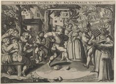 """""""The Egg-Dance"""", Anonymous, c. 1580 -1600, Museum Boijmans Van Beuningen"""