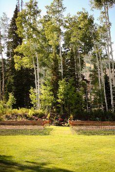 Fresh Summer Wedding at Deer Valley Resort, Utah