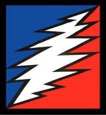 Grateful Dead's classic 13 point lightning bolt
