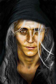 Tom Hiddleston as Raistlin Majere from Dragonlance...OMG, this is perfect!