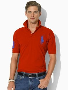 4935f83109 Welcome to our Ralph Lauren Outlet online store. Ralph Lauren Mens Big Pony  Polo T Shirts on Sale. Find the best price on Ralph Lauren Polo.