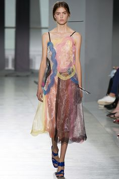 Christopher Kane Spring 2016 is a work of art