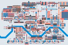 The B Map – An Awesome Illustrated Map of Berlin