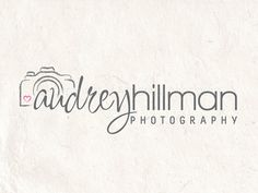 Premade Photography logo design and photography by AquariusLogos, $19.50