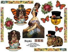 Royal Tea Printable by TERRI KAHRS