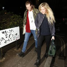 Ellie Goulding goes dating with Dougie Poynter and Alexander Wang handbag. www.handbag.com