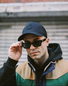 """19 """"Μου αρέσει!"""", 0 σχόλια - RYMOL (@rymolhat) στο Instagram: """"total black Jersey  @iamclaydee , New York 📌"""" Pilot, Mens Sunglasses, Hat, Instagram, Chip Hat, Pilots, Men's Sunglasses, Hats, Hipster Hat"""