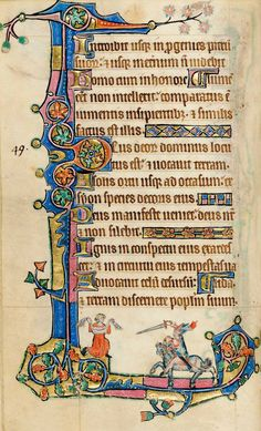 From the recently rediscovered Macclesfield Psalter (c.1320-30), probably from Gorleston, Norfolk, and closely related to the Gorleston Psalter.