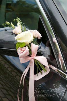 Simple yet gorgeous wedding car decor – Anna Delvey – hochzeit
