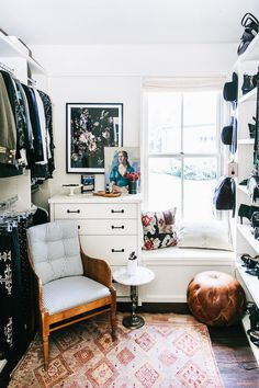 I desperately need a room like this for all my coats