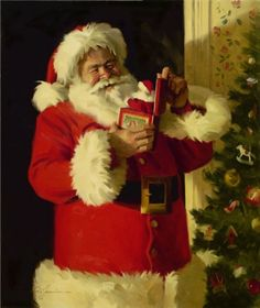 Santa left me a music box just like this one!