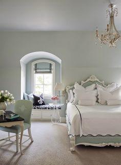 Decoración clásica y elegante en blanco y azul click para ver más! Classic and elegant decor in white and blue click for more!