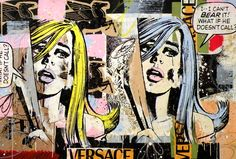 amazing  screen prints | ... brilliant screenprinty collage by Greg Gossel: THIS IS AMAZING