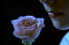 "A screen shot from the 1985 video for ""State of the Heart"""