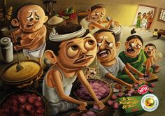 So spicy, you'll run out of tears. MTR Spicy Pickle Mixed Vegetable Agency: Ogilvy, India Piyush Pandey
