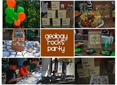 rocks and minerals party supplies | Party Ideas Entertainers and Venues DC: Geology Rocks Birthday Party ...