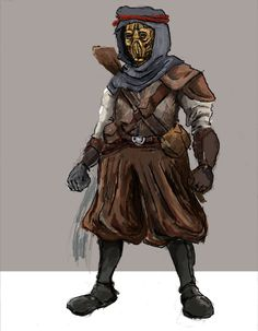 Desert Nomad - Concept 02 WIP by TheLivingShadow