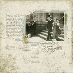 scrapbooking family history