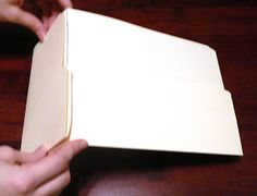 Taylored Expressions: Manila Folder Album Instructions