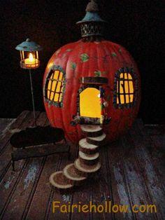 fall garden pumpkin fairy house warm season cold home clearance center windows doors wild natural home craft store imagine life
