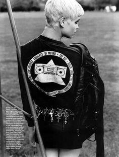 Glam-Punk Photo Shoots: Pixie Geldof Vamps for Vogue UK September Issue