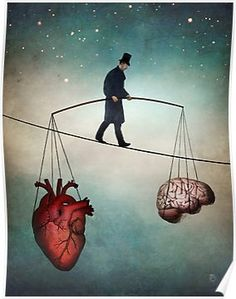 """The Balance"" Digital Art by Christian Schloe posters, art prints, canvas prints, greeting cards or gallery prints. Find more Digital Art art prints and posters in the ARTFLAKES shop. Music Poster, Balance Art, The Balance, Balance Design, Balance Quotes, Visual Metaphor, Kunst Poster, Surreal Art, Les Oeuvres"