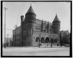 Detroit art museum (demolished) from LOC | Flickr - Photo Sharing!