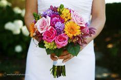 Elizabeth Wray Design-  Slizzling hot summer colors