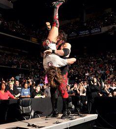 WWE Kane Attacking Daniel Bryan