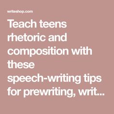 speech writing tips for students In writing a speech, repetition is the key to leaving an impression hammer home key words, phrases, and themes always be looking for places to tie back and reinforce earlier points.