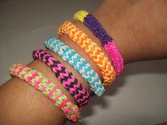 DIY: Pulseiras Rainbow Loom (Com garfos!!)