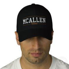 McAllen Texas USA Embroidered Hats