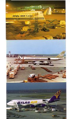 AVIATION POSTCARD CLUB - Cargo airlines