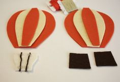baloes de feltro molde