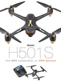 Hubsan H501S X4 GPS Drone w/ FPV (2.4Ghz Edition) http://www.helipal.com/hubsan-h501s-x4-gps-drone-w-fpv-2-4ghz-edition.html