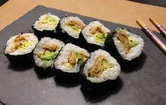 Omelette sushi #vegeterian #sushi