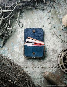 Wool Felt Cardholder & Wallet | Ocean Blue