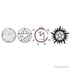 42 Best Supernatural Symbols images in 2015 | Supernatural